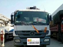 80万出售2010年11月中联奔驰底盘49米泵车