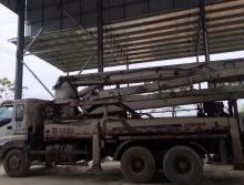 转让一台05年中联五十铃37米泵车
