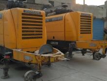 打包出售两台中联8014柴油拖泵