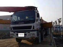 精品出售2009年三一五十铃50米泵车