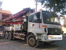 转让2009年9月上牌福田37米泵车
