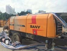 转让精品2013年三一8018-160双油泵电拖泵