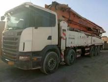 出售12年中联斯堪尼亚58米泵车两台