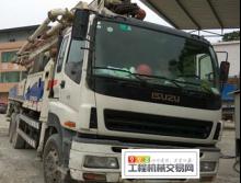 精品出售11年中联五十铃三桥叉腿47米泵车