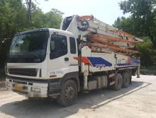 120万出售2013年中联43米泵车一台