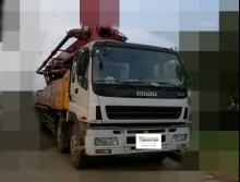 车主直售2008三一五十铃46米泵车