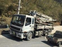 32万处理一台2007年12月中联五十铃37米泵车