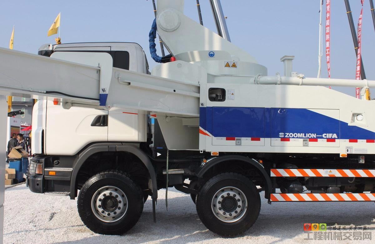 中联重科(zoomlion)zlj5530thbk 63x-6rz 泵车图集