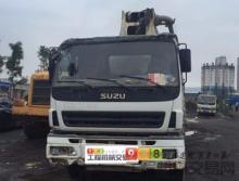 出售09年中联五十铃44米泵车
