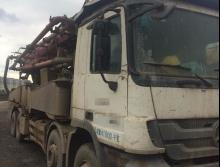 出售11年徐工奔驰48米泵车
