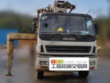 出售10年中联五十铃47米叉腿泵车