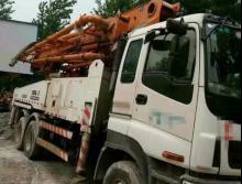 出售12年中联CIFA五十铃41米泵车