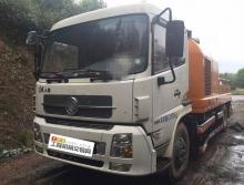 出售14年中联国四10018车载泵
