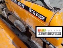 出售2008年中联HBT60电动拖泵
