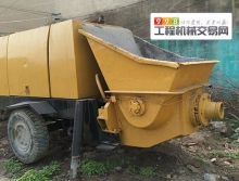 出售11年徐州大田HBTS60两台电动泵