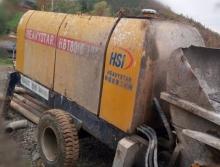出售12年和盛重工HBT8013/16电动拖泵