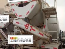 2013年上牌中联广汽日野三桥10方搅拌车