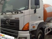 2012年5月出厂,中联广汽日野三桥12方搅拌车