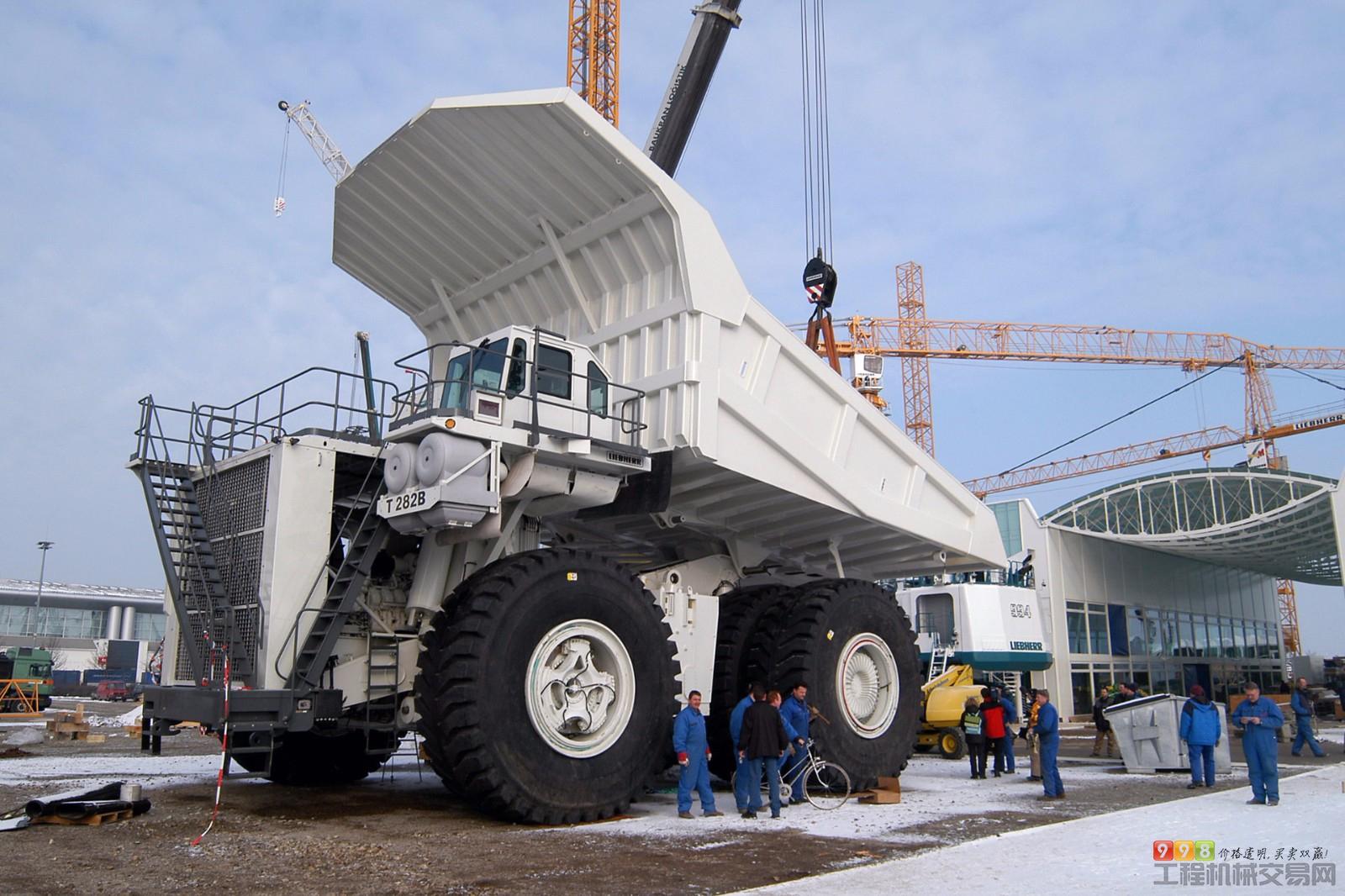 利勃海尔t282b_利勃海尔(liebherr)t282 矿用自卸车图集