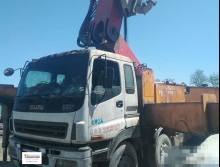 精品出售09年3月出厂的三一五十铃52米泵车