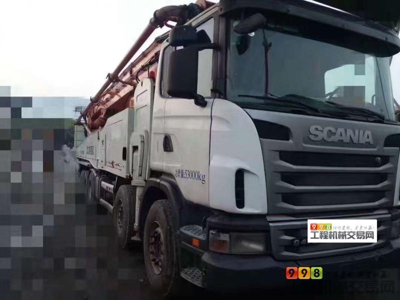 s  基本信息 品牌 中联重科 臂架长度 56米以上 汽车底盘 斯堪尼亚 泵