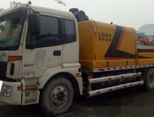 2014年出厂,2015年上牌福田国四9018车载泵