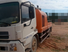 出售2台2013年出厂中联9014车载泵