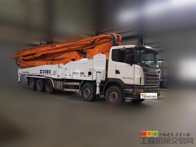 分期付款出售2014年中联斯堪尼亚5桥60米泵车