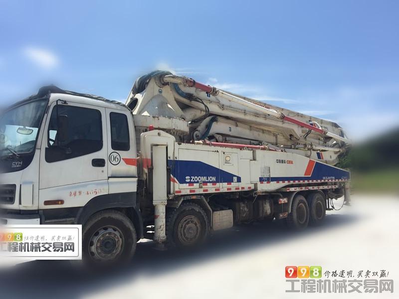 首页 设备 混凝土 泵车  基本信息 品牌 中联重科 臂架长度 52米 汽车