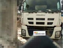精品出售13年国四三一五十铃三桥52米泵车