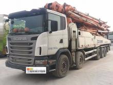 转让2012年中联斯堪尼亚63米泵车
