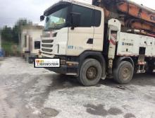 出售11年中联斯堪尼亚62米泵车