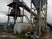 废铁价处理2011年商宝SHZ60搅拌站
