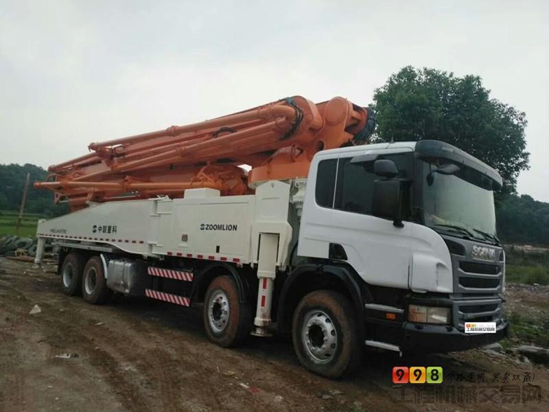s  基本信息 品牌 中联重科 臂架长度 56米 汽车底盘 斯堪尼亚 泵送方