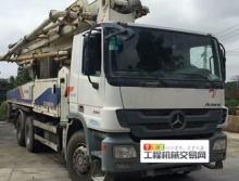 出售10年出厂中联奔驰三桥叉腿47米泵车