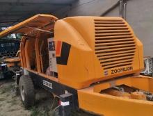 出售4台10年出厂中联6013电拖泵