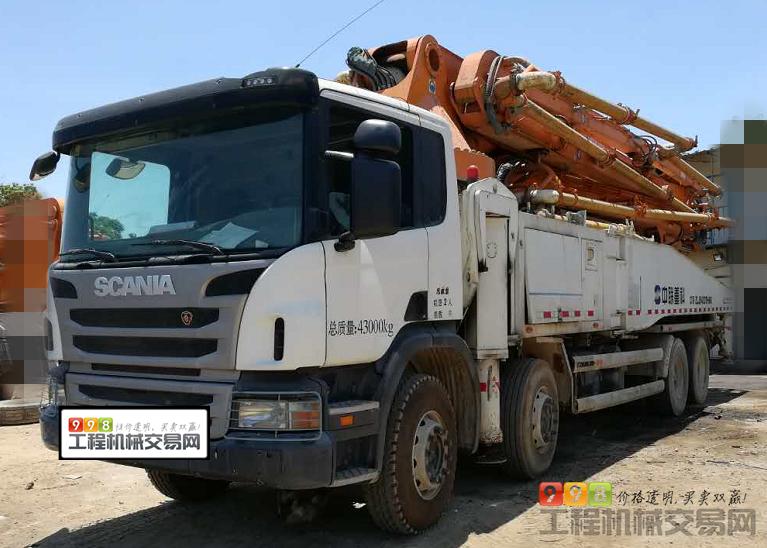 泵车  基本信息 品牌 中联重科 臂架长度 52米 汽车底盘 斯堪尼亚