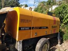 出售08年三一60电拖泵一台