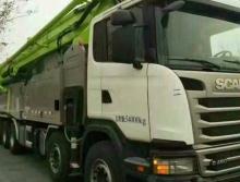 精品出售全新17年出厂中联斯坦尼亚国五56米泵车