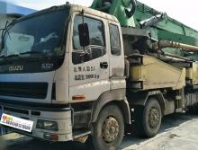 车主转让10年出厂中集五十铃48米泵车