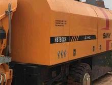 出售16年三一全新HBT90CH-2128D拖泵