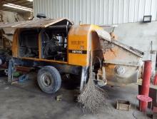 打包出售09年三一6016柴油拖泵和07年武汉精工6013柴油拖泵