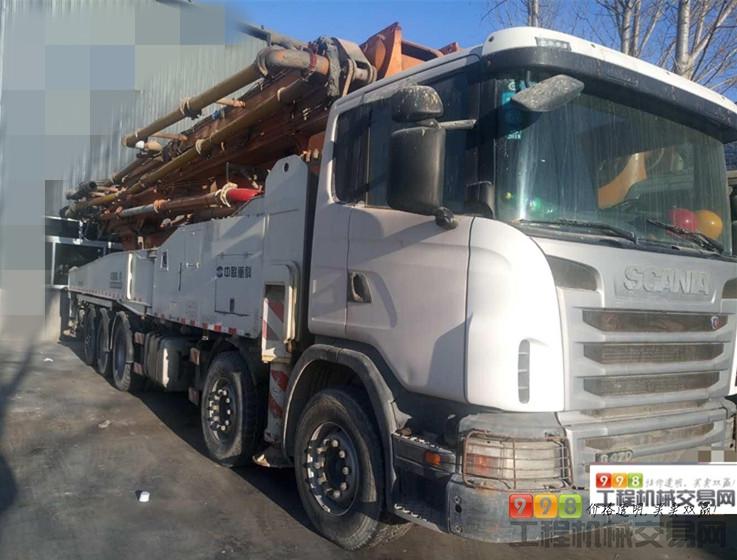 泵车  基本信息 品牌 中联重科 臂架长度 56米以上 汽车底盘 斯堪尼亚