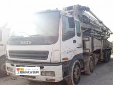 出售09年3月出厂中联五十铃46米泵车