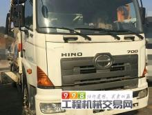 出售10年8月中联日野40米泵车