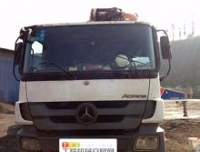 精品出售11年出厂中联奔驰47米三桥叉腿泵车