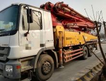 精品出售10年三一奔驰43米泵车