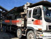 出售08年绿标中联五十铃46米泵车