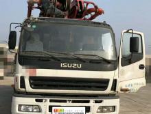 精品转让2012年三一五十铃底盘46米泵车