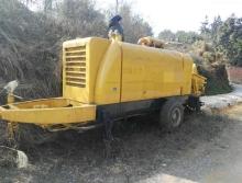 出售09年中联6013柴油拖泵